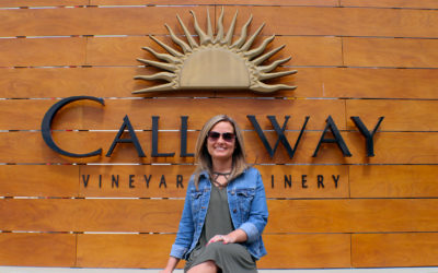 Our Behind The Scenes Tour at Callaway Vineyard & Winery, Located in the Heart of Temecula Valley
